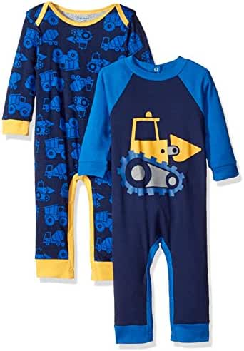 Gerber Baby Boys' 2 Pack Coveralls