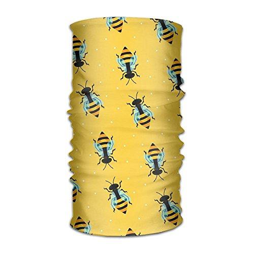 nctional Headwear Bumblebee Battle Head Wrap Elastic Turban Sport Headband Outdoor Sweatband ()