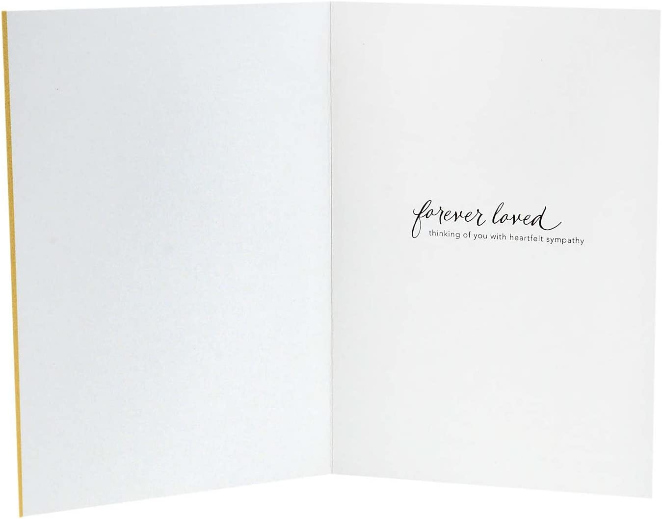 Hallmark Sympathy Cards Assortment Pack 5 Cards, 5 Envelopes 1995RZC1910