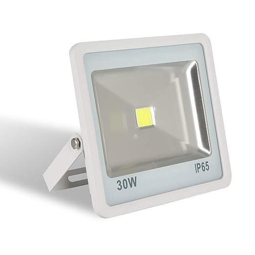 AUFUN Focos de exterior Led 30W blanco cálido Proyector LED ...