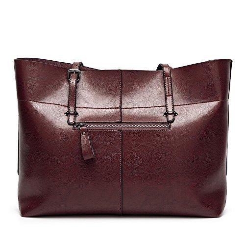 Sacchetto Mano Tote Spalla Caffè Grande Hobo Donna Borsa Fivelovetwo Donna Donne A Di Sacchetti Delle Handbags Borse 0FOCwaqx