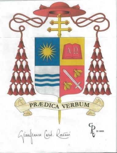 Gianfranco Cardinal Ravasi Signed 8.5x11 Paperstock Photo