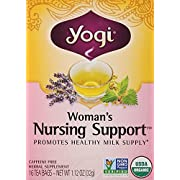 Yogi Teas Woman's Nursing Support 16 Tea Bags, 0.21 Pound