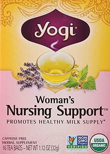 Nursing Womans Support (Yogi Teas Woman's Nursing Support 16 Tea Bags, 0.21 Pound)