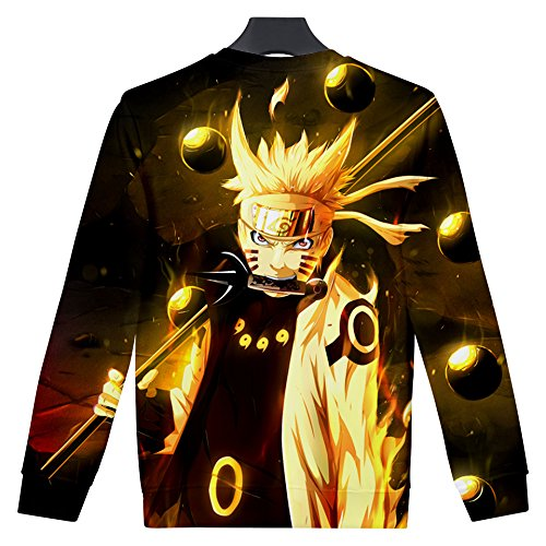 Homme Sweat Ctooo shirts Mode Naruto 3xl 2018 15 3d Xxs 7q7H5xXw