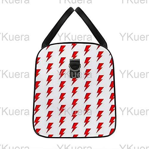 ボウイ1 旅行バッグナイロンハンドバッグ大容量軽量多機能荷物ポーチフィットネスバッグユニセックス旅行ビジネス通勤旅行スーツケースポーチ収納バッグ