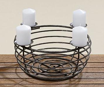 adventskranz metall fullen weihnachten in deutschland. Black Bedroom Furniture Sets. Home Design Ideas