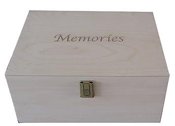 En Bois Brut Non Uni Grand Souvenir Ou Memoire Boites De Rangement