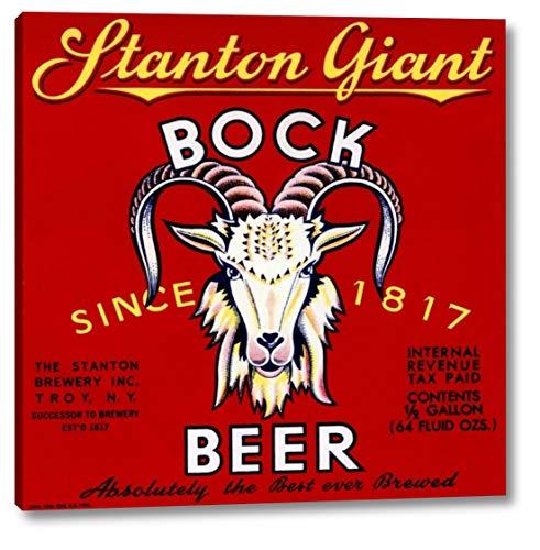 Stanton Giant Bock Beer by Vintage Booze Labels - 19
