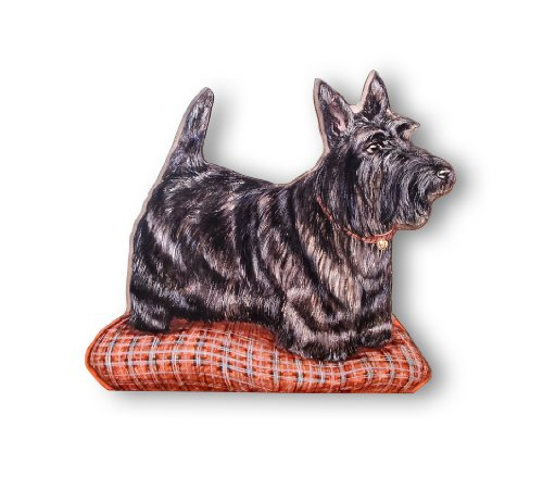 Stupell Home Décor Scottie Decorative Dog Door Stop, 13.5 x 0.5 x 14.5, Proudly Made in USA