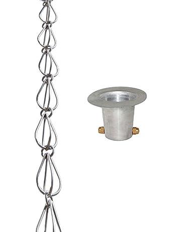 965e6f264841 Monarch 8.5 Ft. Aluminio lágrima lluvia cadena
