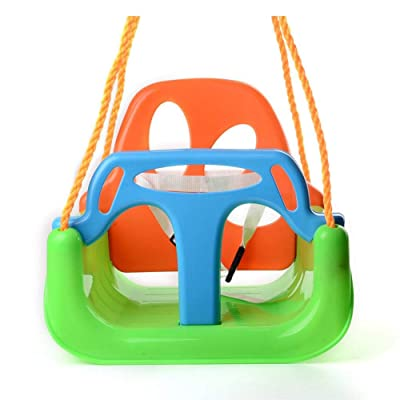 DaJun Toddler Swing Seat Hanging Swing Set for Playground Swing Set,Infants to Teens Swing, Detachable Outdoor Toddlers: Home & Kitchen