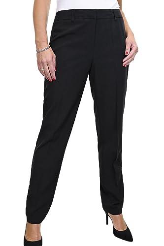 ICE (1523-1) pantalones de la Ciudad o la oficina con estilo negro