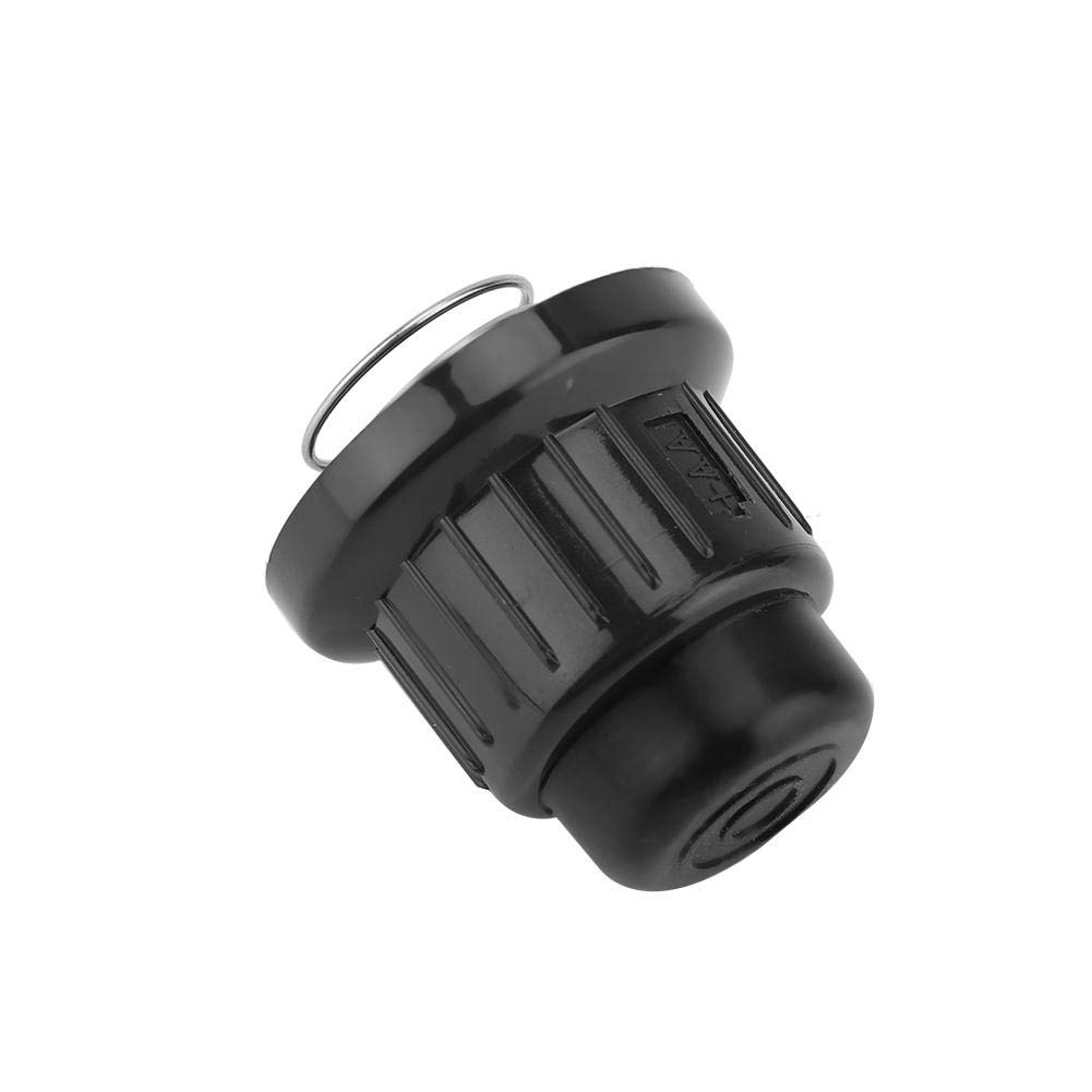 Fdit Black Plastic Lighter Ignitor Cap Replacement Spark Generator Gas Grill Barbecue Spark