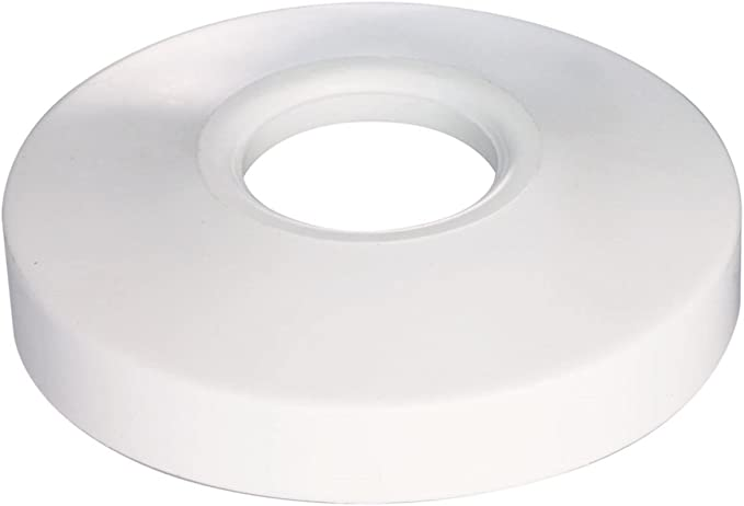 1-1//2 in Dia X 8 in L Flanged White PVC 1-1//2D Plumb Pak PP10-8W Sink Tailpiece