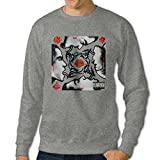 101Dog Blood Sugar Sex Magik Mens Crew Sweatshirt Ash