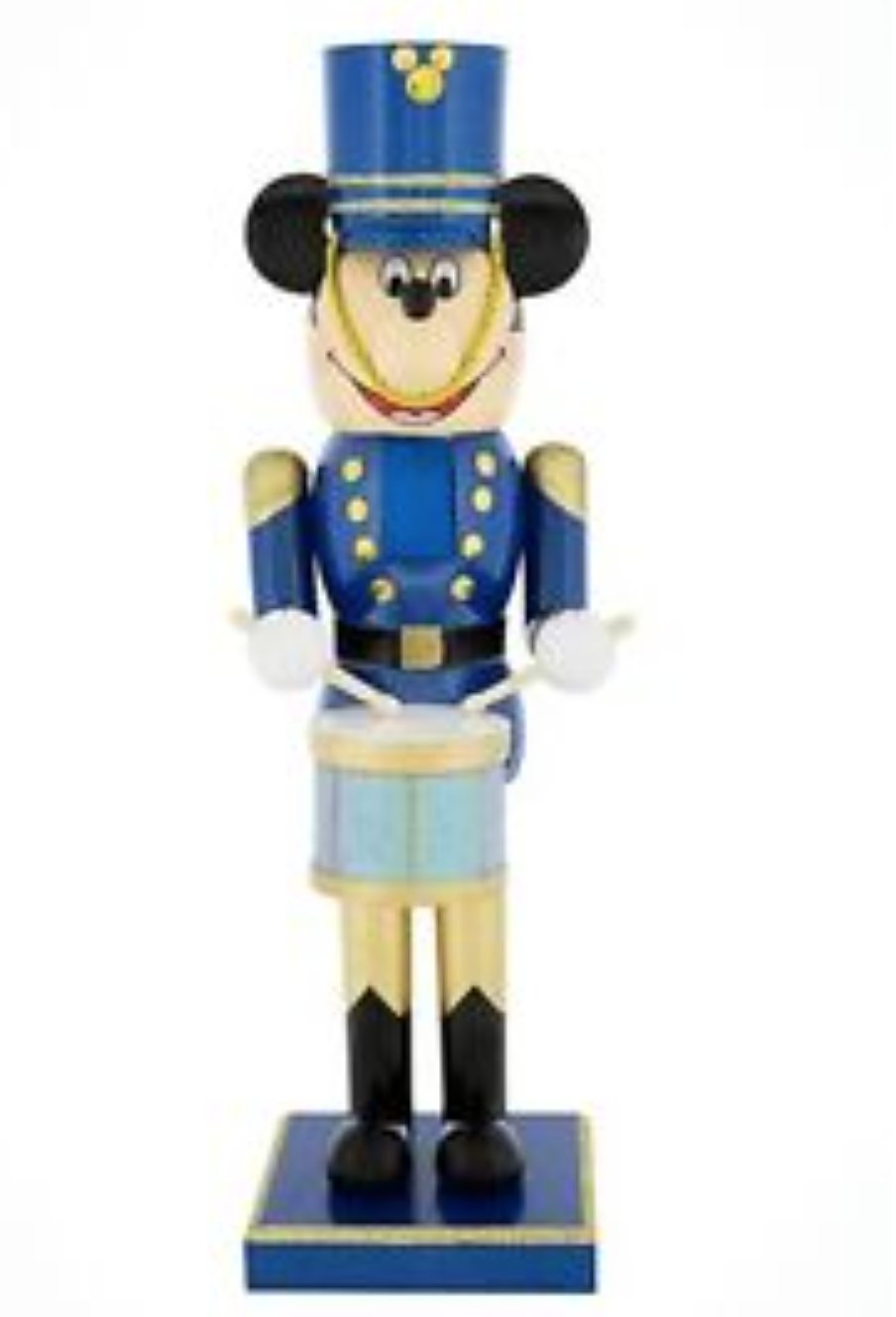 Disney Parks Mickey Mouse as Toy Soldier Drummer (Blue) 12 Nutcracker by Disney Parks