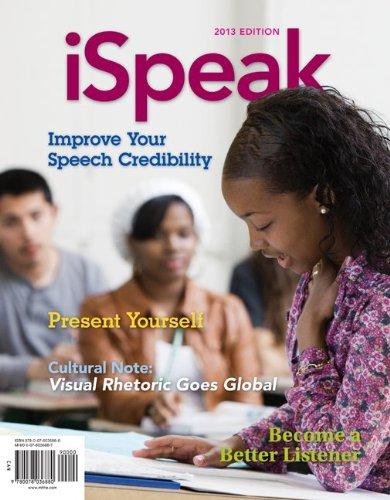 iSpeak: Public Speaking for Contemporary Life