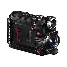 Olympus Tough TG-Tracker 4K Action Camera, Black