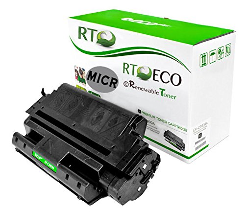Renewable Toner 09A C3909A Compatible MICR Toner Cartridge for Check Printing for HP LaserJet Printers 5Si 5Si Mopier 5SIMX 5SINX 8000 by Renewable Toner