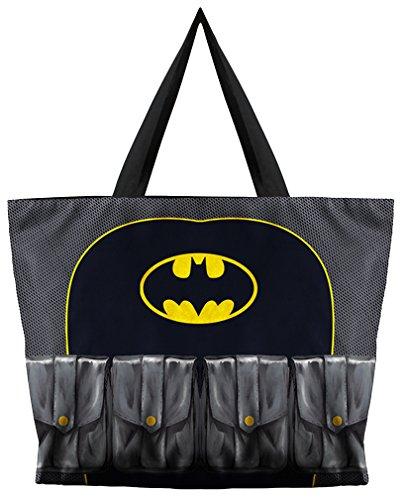 Print Large Shopper Handbag - Kuyou Women's Designs Print Handbags Shoulder Bags (bat)