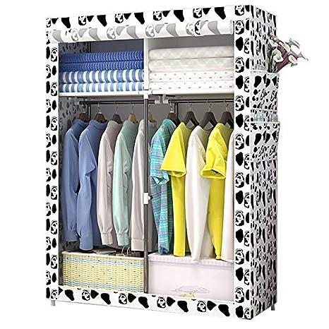 Amazon.com: WN – Armario de tela, fácil de montar, armario ...