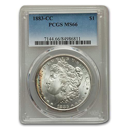 1883 CC Morgan Dollar MS-66 PCGS $1 MS-66 PCGS