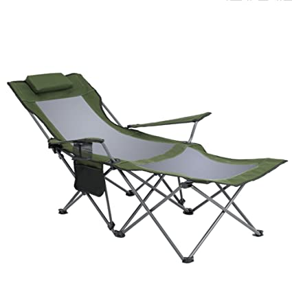 Amazon.com: ZAYTY XRXY Outdoor Lightweight Extra Long Folding Chair ...