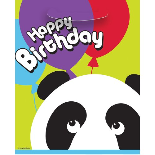 Panda Birthday Goodie Bags 8ct product image
