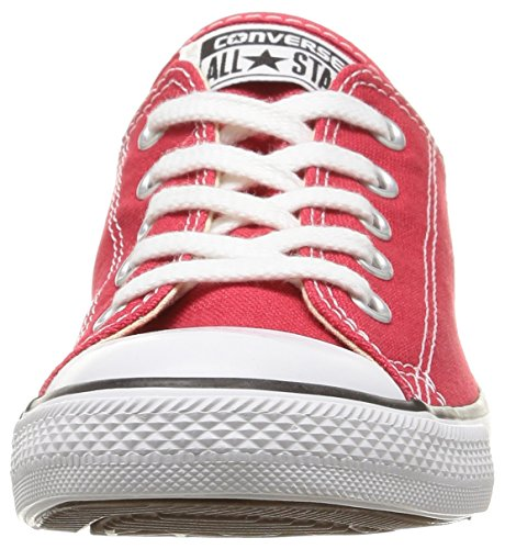 Converse Dainty Leath Ox 289050-52-17, Sneaker donna Red (Rouge)