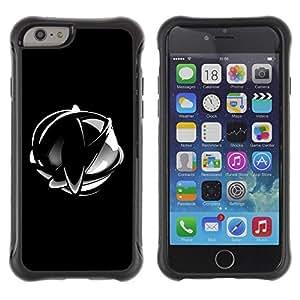 Suave TPU GEL Carcasa Funda Silicona Blando Estuche Caso de protección (para) Apple Iphone 6 / CECELL Phone case / / Abstract Chrome Sphere /