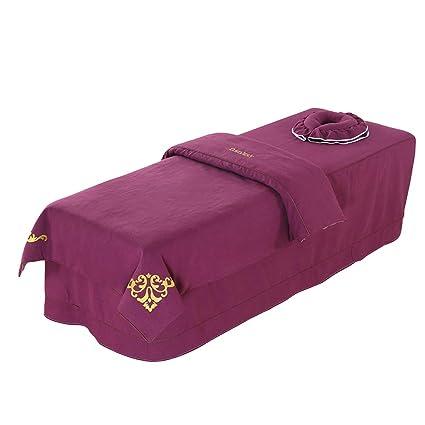 Amazon.com: Juego de sábanas de masaje de alta calidad con ...