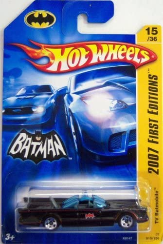 2007 Hot Wheels Batmobile First Editions 15//36 Bat-Mobile Diecast Die-Cast 1966