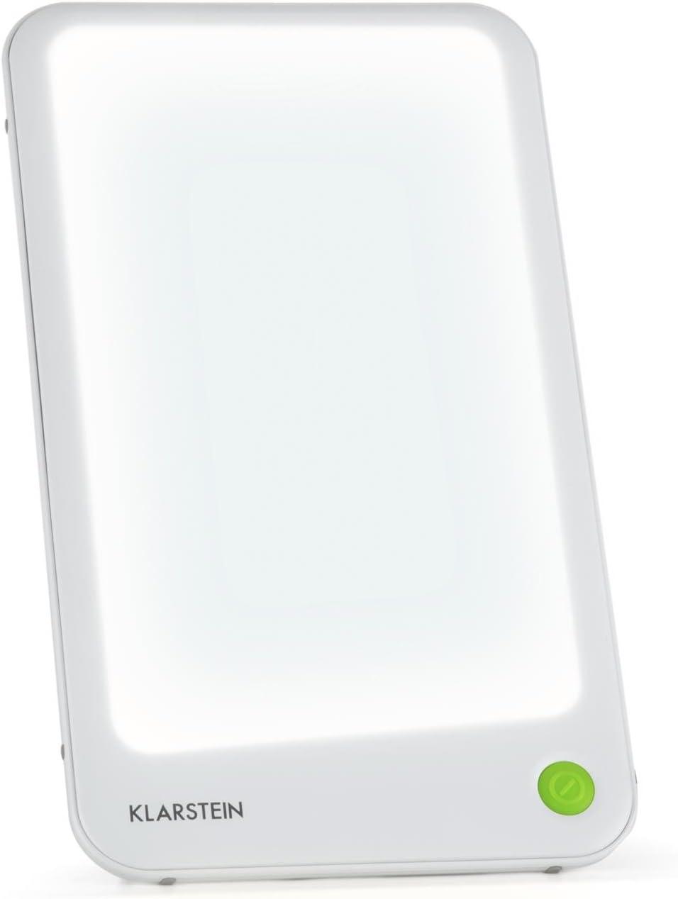 /Wei/ß Klarstein 3/MC Tischleuchte Therapeutische / 10.000/LUX, 8.000/Stunden, Oberfl/äche 35/x 48/cm, fluorisierend, anti-depresi/ón, Lichttherapieger/ät, Umwelt, geeignet zum Aufh/ängen