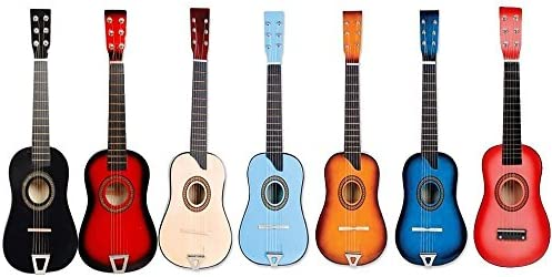 Amazon.com: Kids Guitar - Kids Educational Toy - Assorted Colors -- National Standard Products®: Musical Instruments