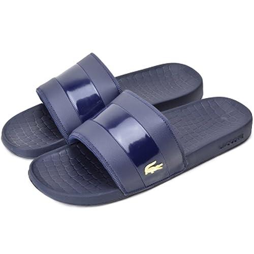 c7eaf739c7856 Lacoste Men s Fraisier 118 1 U Navy Gold 10 M US M  Amazon.ca  Shoes ...