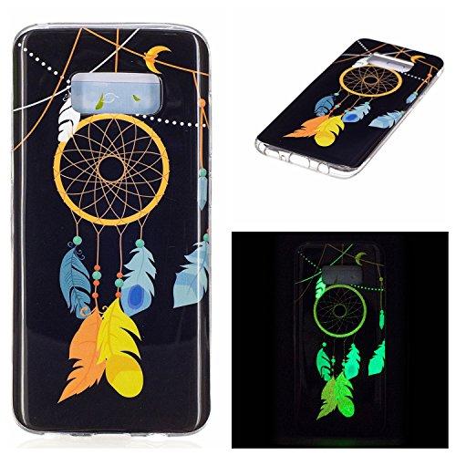 Samsung Galaxy S8 Case, resistente a los arañazos caso brillante colorido de impresión diseño estilo brillante TPU funda protectora por Samsung Galaxy S8+ libre de la pantalla universal Stylus image-3