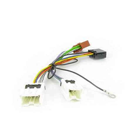 amazon com wiring lead harness adapter for nissan x trail 2005 iso rh amazon com