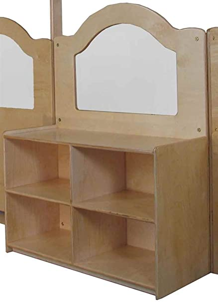 Amazon.com: Wave Design Room Divider With Storage: Home ...