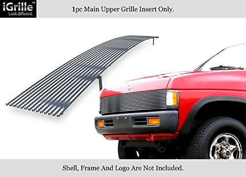 APS Compatible with 1986-1997 Nissan Pickup Select Models Stainess Steel Billet Grille Insert N85230S