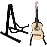 Suporte Chão Guitarra Violão Apoio Instrumento Baixo Metal
