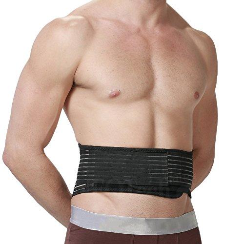 Magnetic Heat Lower Back Brace - Self Heating Lumbar Support Belt -...