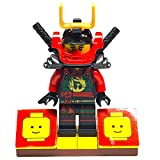 ninjago ninja db x - MinifigurePacks: Lego Ninjago Bundle (1) Samurai X Mech Nya Minifigure (1) Figure Display Base (2) Figure Accessory's (Pair of Katana Swords)