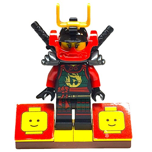 MinifigurePacks: Lego Ninjago Bundle (1) Samurai X Mech Nya Minifigure (1) Figure Display Base (2) Figure Accessory's (Pair of Katana Swords)