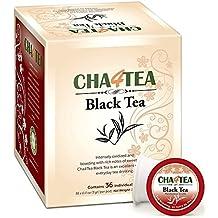 Cha4TEA 36-Count Black Tea K Cups for Keurig K-Cup