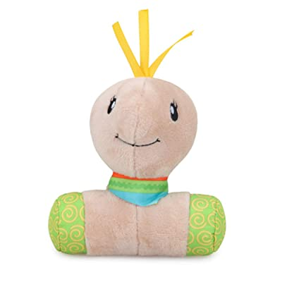 Baby Hand Rattles Toy Soft Plush Stuffed Cartoon Tortoise Shape Stick Rattles Toy Plush Bell Toy Newborn Infant Developmental Toy : Baby
