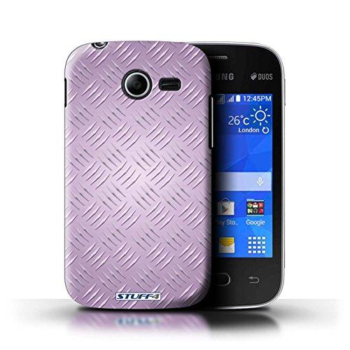 Coque de Stuff4 / Coque pour Samsung Galaxy Pocket 2 / Rose Design / Motif en Métal en Relief Collection