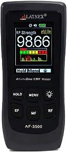 LATNEX AF-3500 EMF Meter RF Detector and Reader