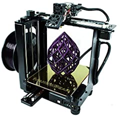 With its steel frame and CNC machined cast aluminum construction, the MakerGear M2 3D desktop printer is engineered and manufactured to provide industrial level precision with a small footprint. The four-point print bed is easy to level, stay...