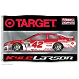 Kyle Larson #42 2016 3x5 CAR Design Flag w/grommets Outdoor Banner Nascar Racing